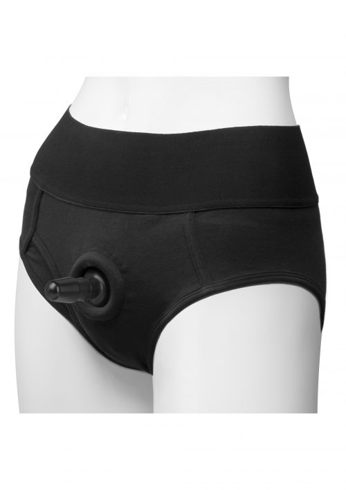 Panty with Plug Briefs