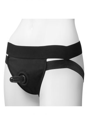 Panty with Plug Dual Strap