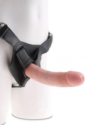 Strap-On Harness 8 Inch Cock