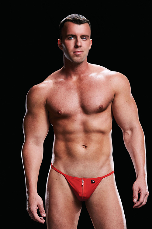 LOW-RISE G-STRING RED