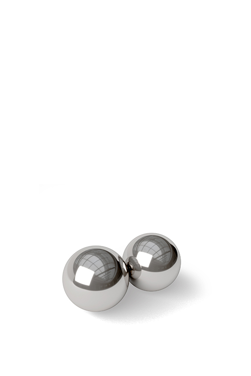 NOIR STAINLESS STEEL KEGEL BALLETJES
